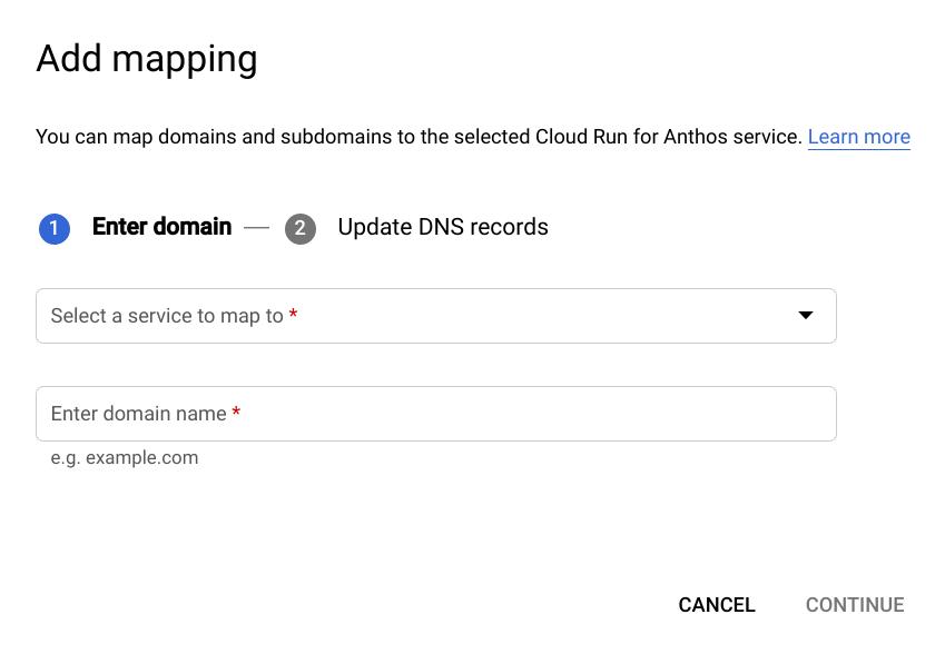 Domainzuordnungen hinzufügen