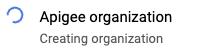 creando ícono giratorio de la organización
