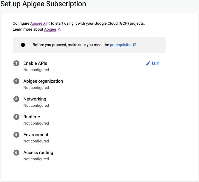 Configurar a página de assinatura da Apigee do assistente de provisionamento da Apigee