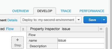"""代理构建器的""""开发""""标签页"""