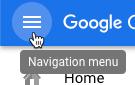 강조표시된 탐색 메뉴