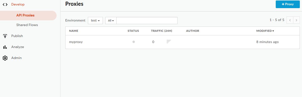 Create and deploy a new API proxy | Apigee Hybrid Beta 2 | Apigee Docs