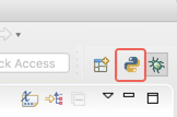 Displays the icons for quick switching perspectives in Eclipse