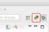 Affiche les icônes permettant de changer rapidement de perspective dans Eclipse.