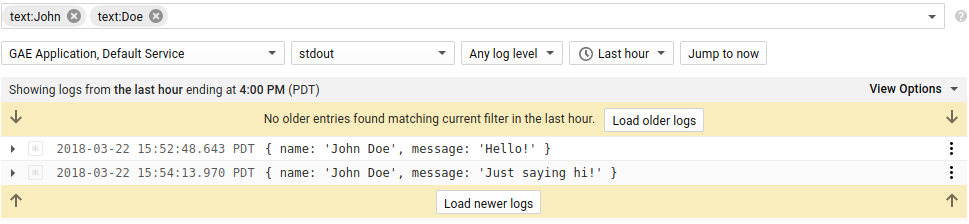 Logs Viewer