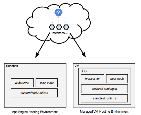 app engine hosting environments