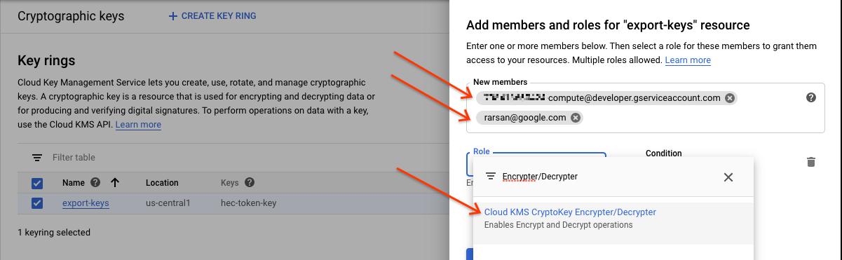Agrega la función de encriptador y desencriptador.