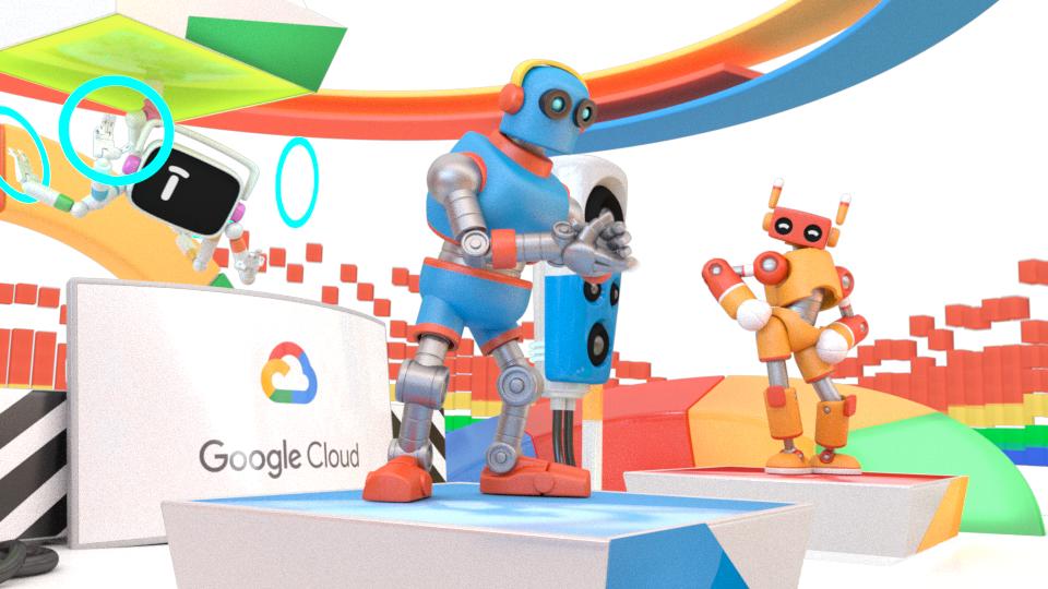 Robot dance party