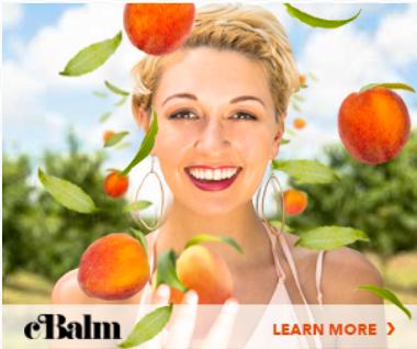 Werbeanzeige für eine Hautcreme
