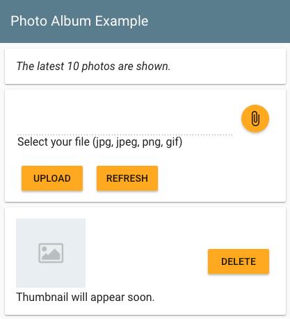 서비스에서 고유한 미리보기 이미지가 생성될 때까지 기다리는 동안 표시되는 미리보기 이미지 자리표시자