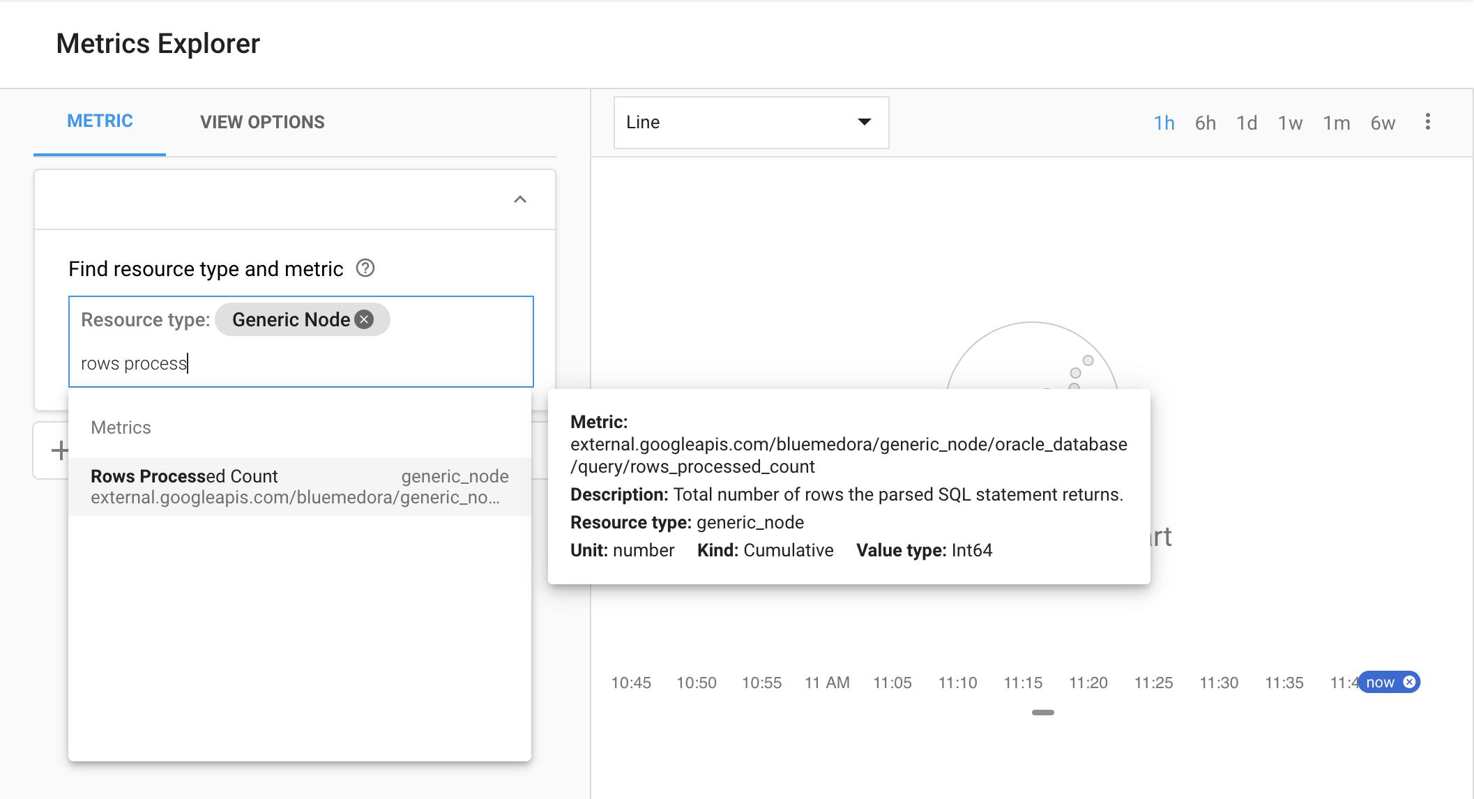 vSphere metrics in Monitoring.