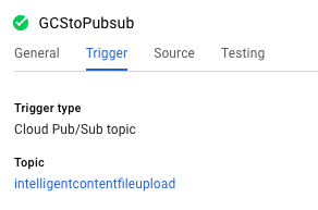 Cloud Functions の関数をトリガーする Cloud Pub/Sub トピック