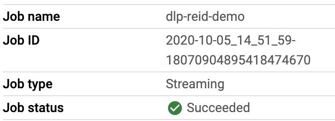 [完了] のジョブ ステータスが表示された完了済みのパイプライン。