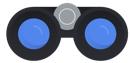 Gráfico de binoculares