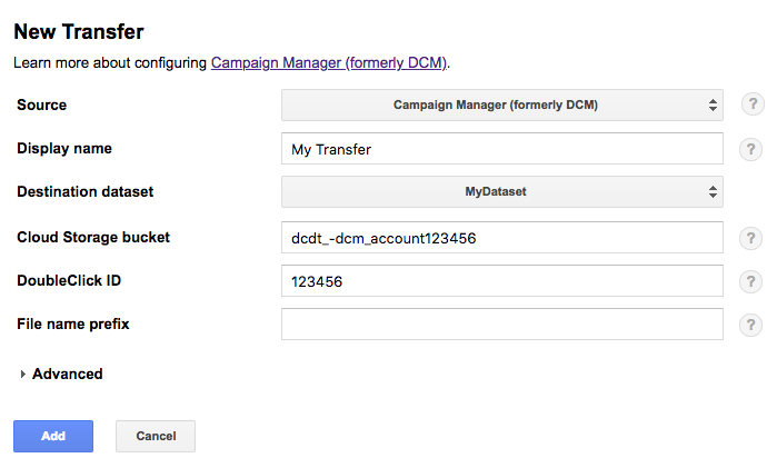 Campaign Manager transfer