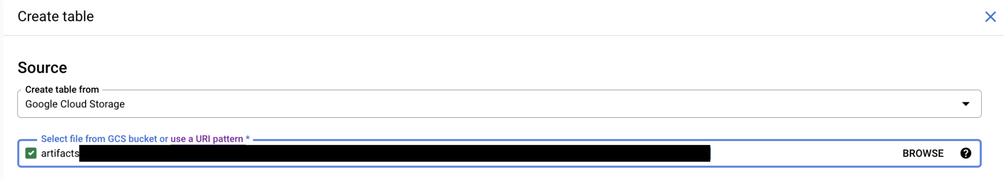 Loading CSV data from Cloud Storage | BigQuery | Google Cloud
