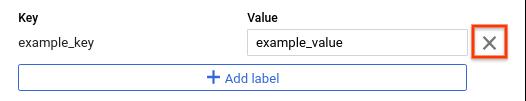 Label delete