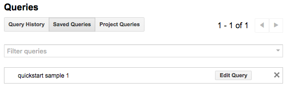Save queries List