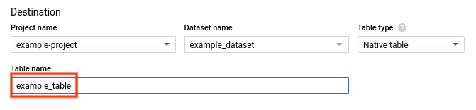 Creating and using clustered tables | BigQuery | Google Cloud