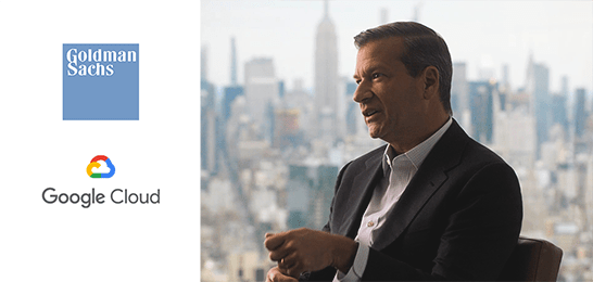 Google Cloud e Goldman Sachs