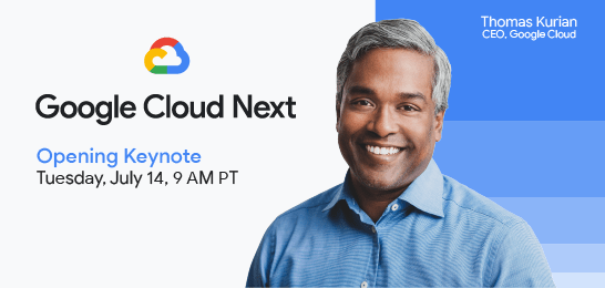 Google cloud and keynotes