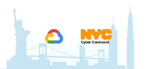 Google Cloud e NYC Cyber Command