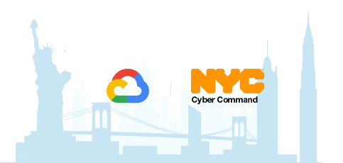 Google Cloud 和 NYC Cyber Command (紐約市網路司令部)