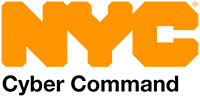 NYC Cyber Command ロゴ