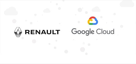 Google cloud and renault
