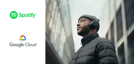 Google Cloud と Spotify