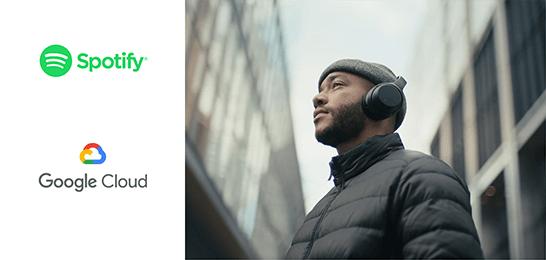 Bild: Google Cloud und Spotify