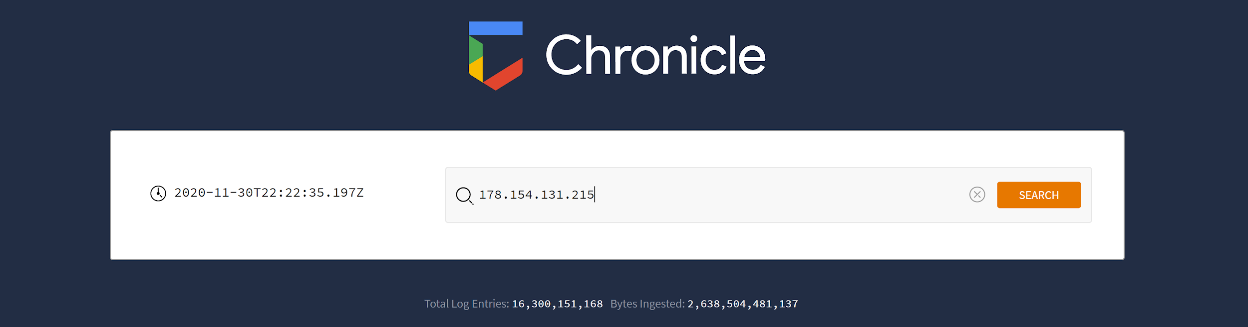 Rechercher une adresse IP