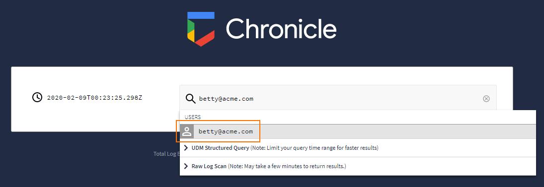 menu utilisateur avec détection automatique