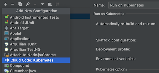 Quickstart | Cloud Code for IntelliJ | Google Cloud