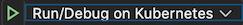 icono de inicio de depuración
