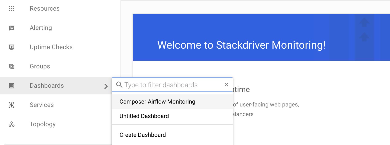 Monitoring environments in Stackdriver | Cloud Composer