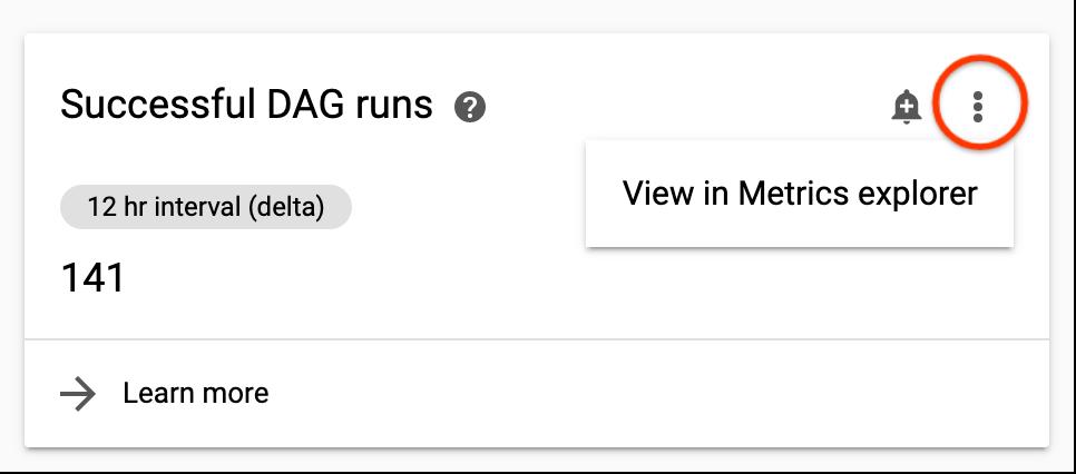Metrics Explorer で表示する