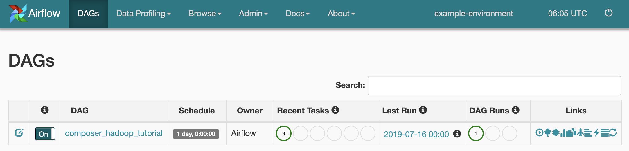 Running a Hadoop wordcount job on a Cloud Dataproc cluster