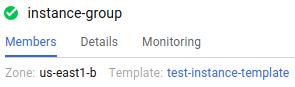 「Monitoring」(監控) 分頁標籤。