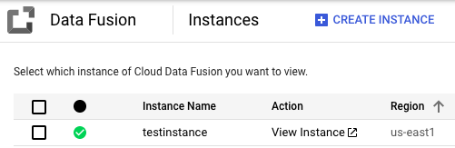 Click the name of your instance.