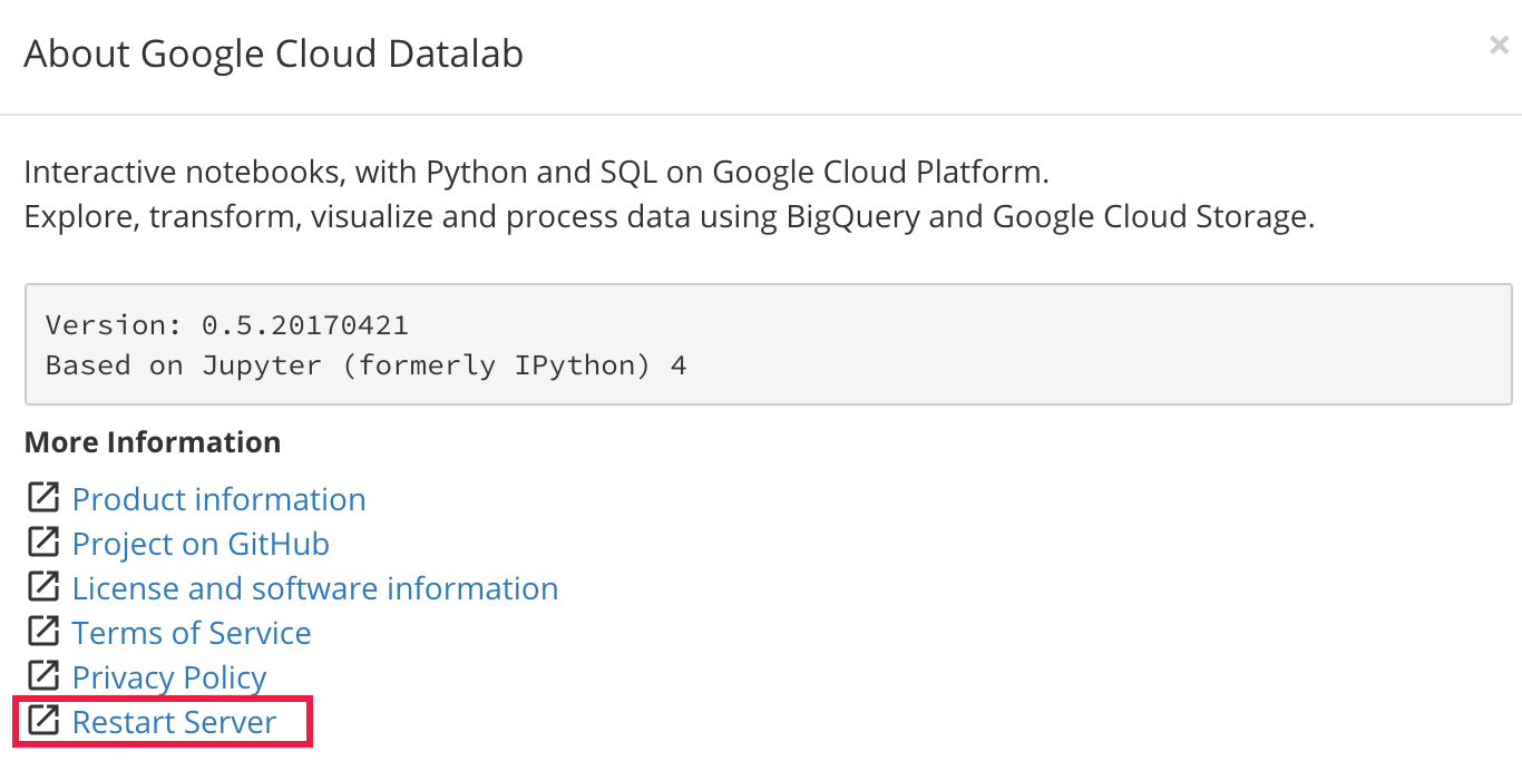 Adding Python libraries to a Cloud Datalab instance | Cloud