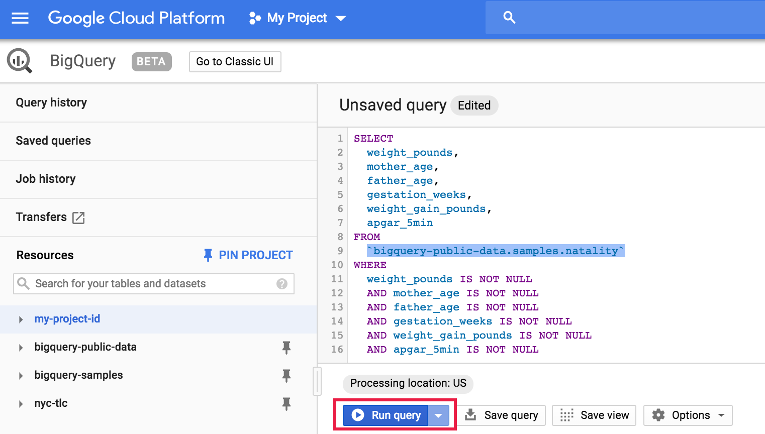 Use Cloud Dataproc, BigQuery, and Apache Spark ML for