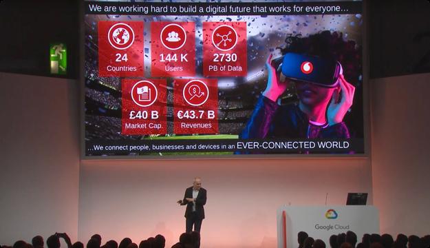Vodafone이 Google Cloud에서 데이터 플랫폼을 빌드한 방식(Next '19 UK)