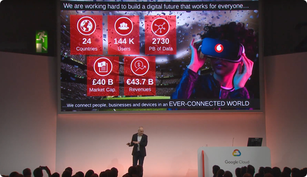 How Vodafone Built a Data Platform on Google Cloud (Next '19 UK)
