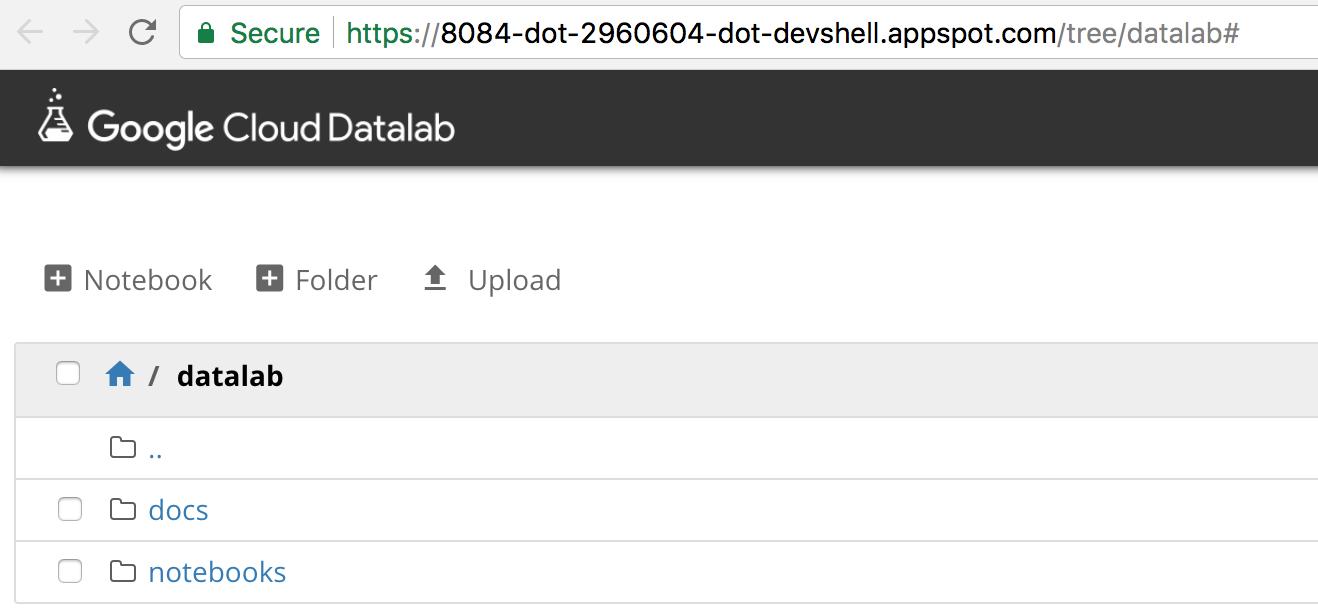 Cluster web interfaces | Cloud Dataproc Documentation