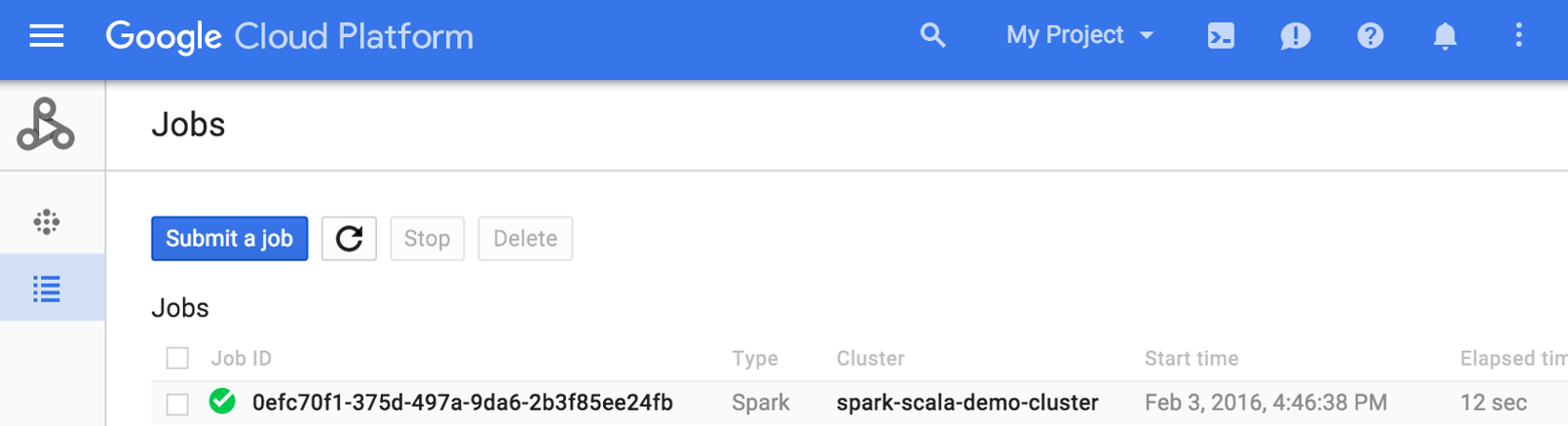 Write and run Spark Scala jobs on Cloud Dataproc | Cloud Dataproc