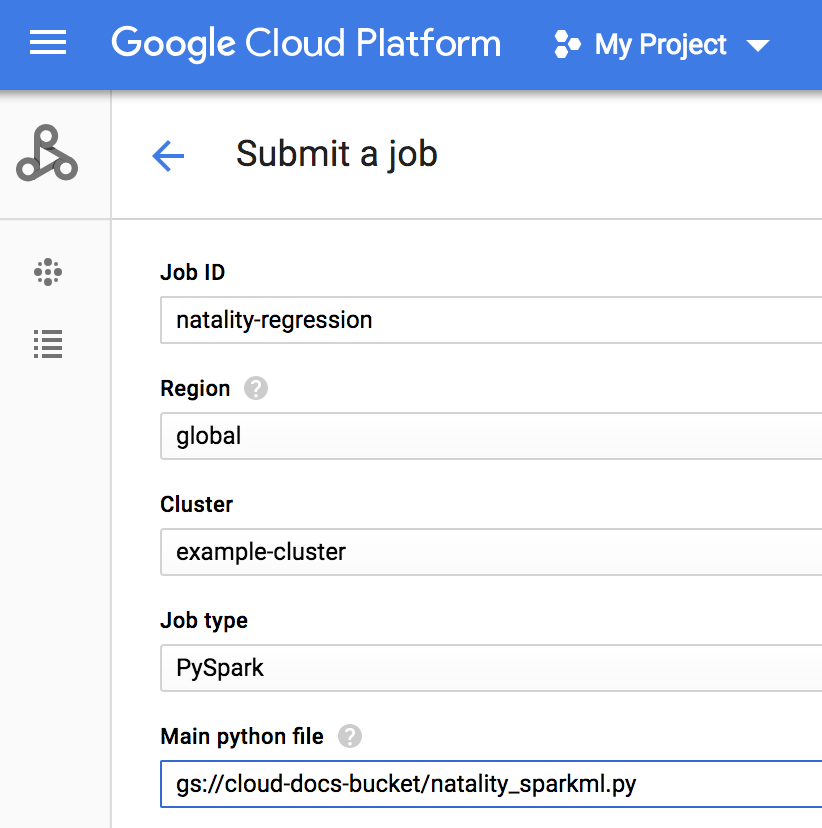 Use Cloud Dataproc, BigQuery, and Apache Spark ML for Machine