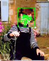 Face detection and processing in 300 lines of code