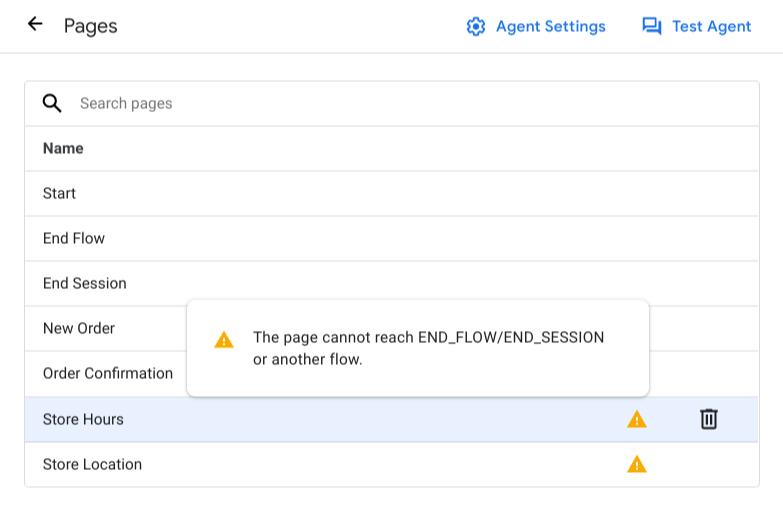 Captura de pantalla de la validación.