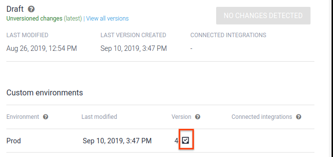 Agent validation error screenshot